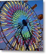 Ferris Wheel, Kentucky State Fair Metal Print