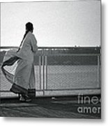 Ferry Boat Ride Metal Print