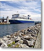 Ferry From North Sydney-ns To Argentia-nl Metal Print
