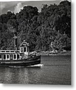 Ferry Metal Print by Mario Celzner