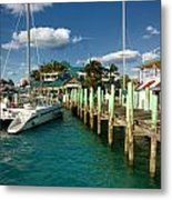 Ferry Station Paradise Island Metal Print