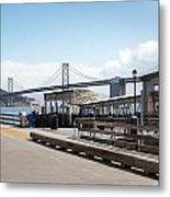 Ferry Terminal Metal Print