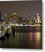 Ferry To The City Of Brotherly Love Metal Print