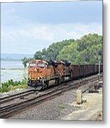 Ferryville Train Metal Print