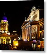 Festival Of Lights Gendarmenmarkt Berlin Metal Print