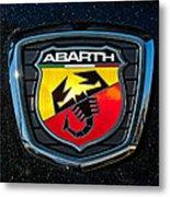 Fiat Abarth Emblem Metal Print