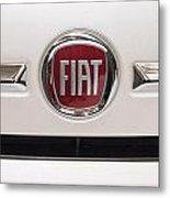 Fiat Logo Metal Print