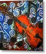 Fiddle - Violin Metal Print