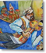 Fiddler On The Roofs Metal Print