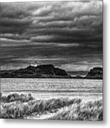 Fidra Island Lighthouse Metal Print