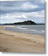 Fidra Island Lighthouse Metal Print