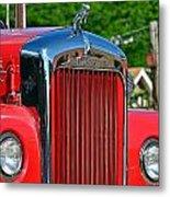 Fie Truck Metal Print