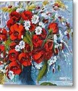 Field Bouquet 2 Metal Print