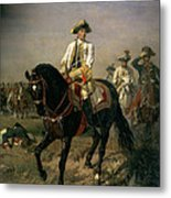 Field Marshal Baron Ernst Von Laudon 1717-90, General In The Seven Years War And War Of Bavarian Metal Print