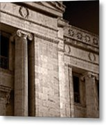 Field Museum Of Chicago Bw Number 2 Metal Print