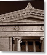 Field Museum Of Chicago Bw Metal Print