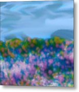 Field Of Flowers Metal Print by Tanya Jacobson-Smith