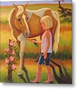 Fields Of Blessing Metal Print