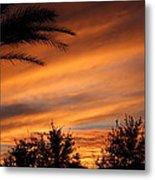 Fiery Arizona Sunset Metal Print