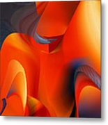 Fiery Color For Iphone Art Metal Print