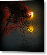 Fiery Fall... Metal Print