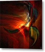 Fiery Flight Metal Print by Gun Legler