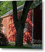 Fiery Shadows Metal Print