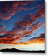 Fiery Skies Metal Print