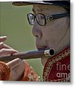 Fife And Drum Corps Metal Print
