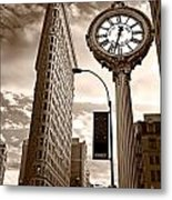 Fifth Avenue Building Metal Print
