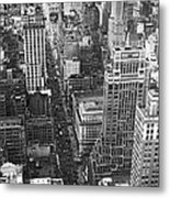 Fifth Avenue In New York City. Metal Print