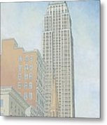 Fifth Avenue Morning Metal Print