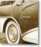 Fifties Buick Metal Print