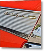 Fifty Seven Chevy Bel Air Metal Print