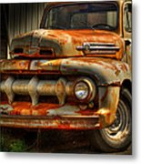 Fifty Two Ford Metal Print by Thomas Young