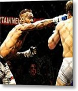 Fight Night No. 19 Metal Print by Shawn Lyte