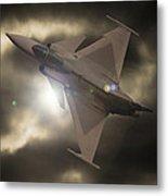 Fighter Jet Metal Print