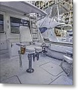 Fighting Chair Metal Print