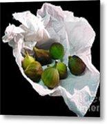 Figs In A Napkin Metal Print