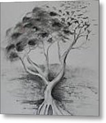 Figtree The Strength Metal Print