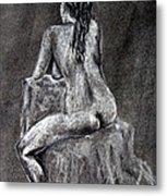 Figure Drawing 2 Metal Print