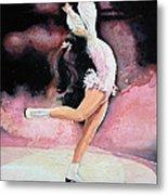 Figure Skater 20 Metal Print by Hanne Lore Koehler