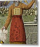 Figure Symbolizing Judaism Metal Print