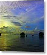 Fijian Sunrise Metal Print