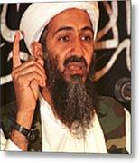 FILE PHOTO  Colin Powell Warns Of Bin Laden And Iraqi Partnership Metal Print
