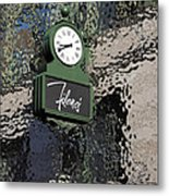 Filene's Boston In Abstract Metal Print