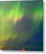 Filled With Aurora Metal Print by Ron Day