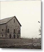 Filley Stone Barn 2 Metal Print