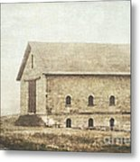 Filley Stone Barn Metal Print