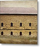 Filley Stone Barn South Side Metal Print